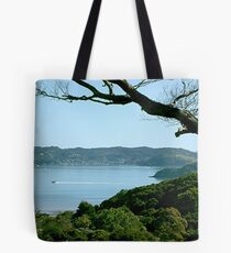 'Hell hole of the Pacific' - Russell, New Zealand. Tote Bag