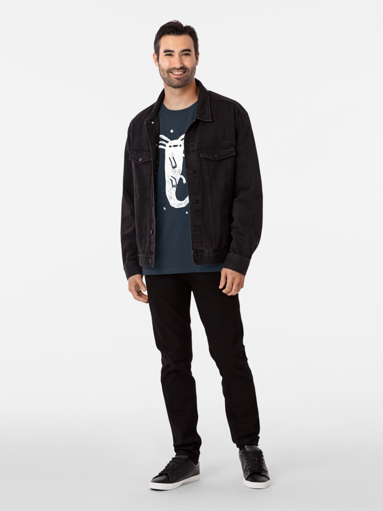 Alternate view of Axolotl Print Premium T-Shirt