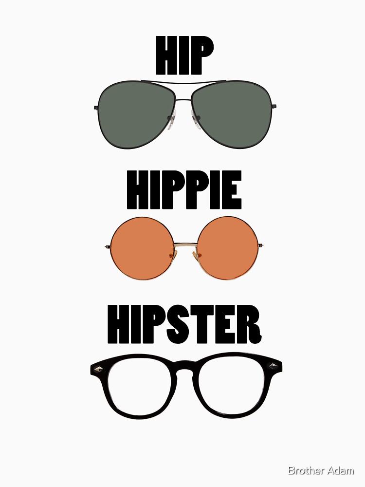 Hip Hippie Hipster by atartist