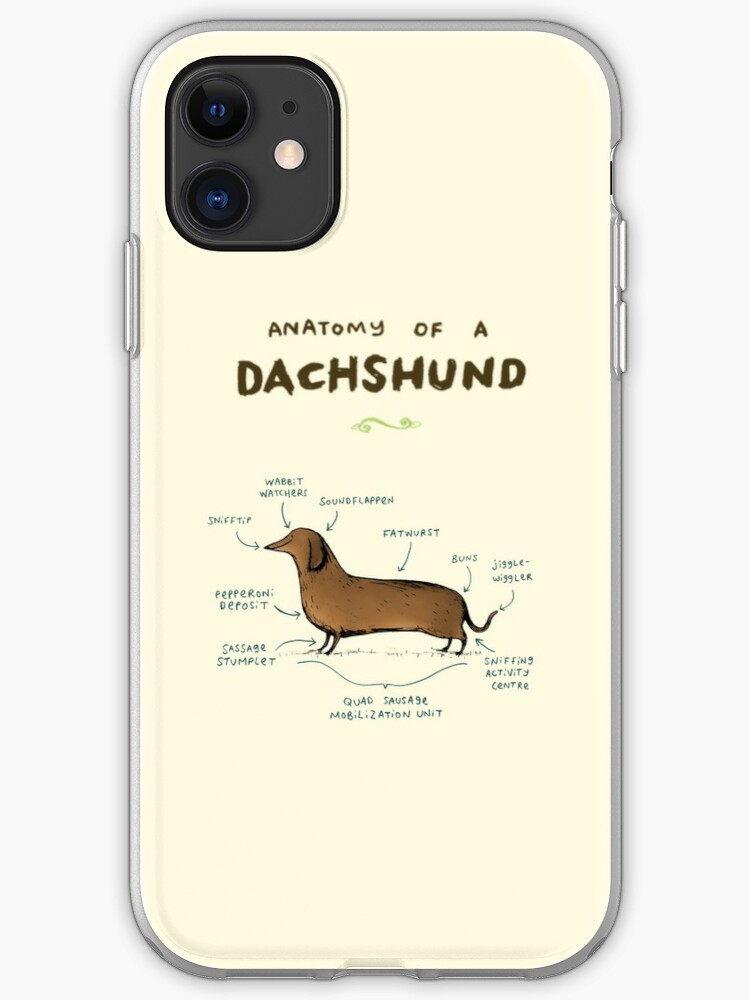 Sausage Fox iphone 11 case