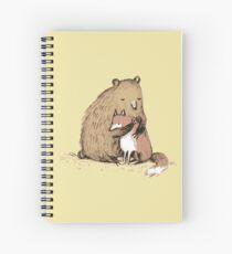 Cuaderno de espiral Grizzly Hugs
