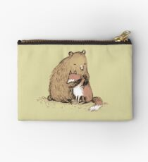 Grizzly Hugs Zipper Pouch