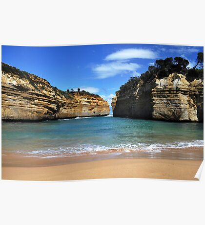 Loch Ard Gorge, Great Ocean Road Poster