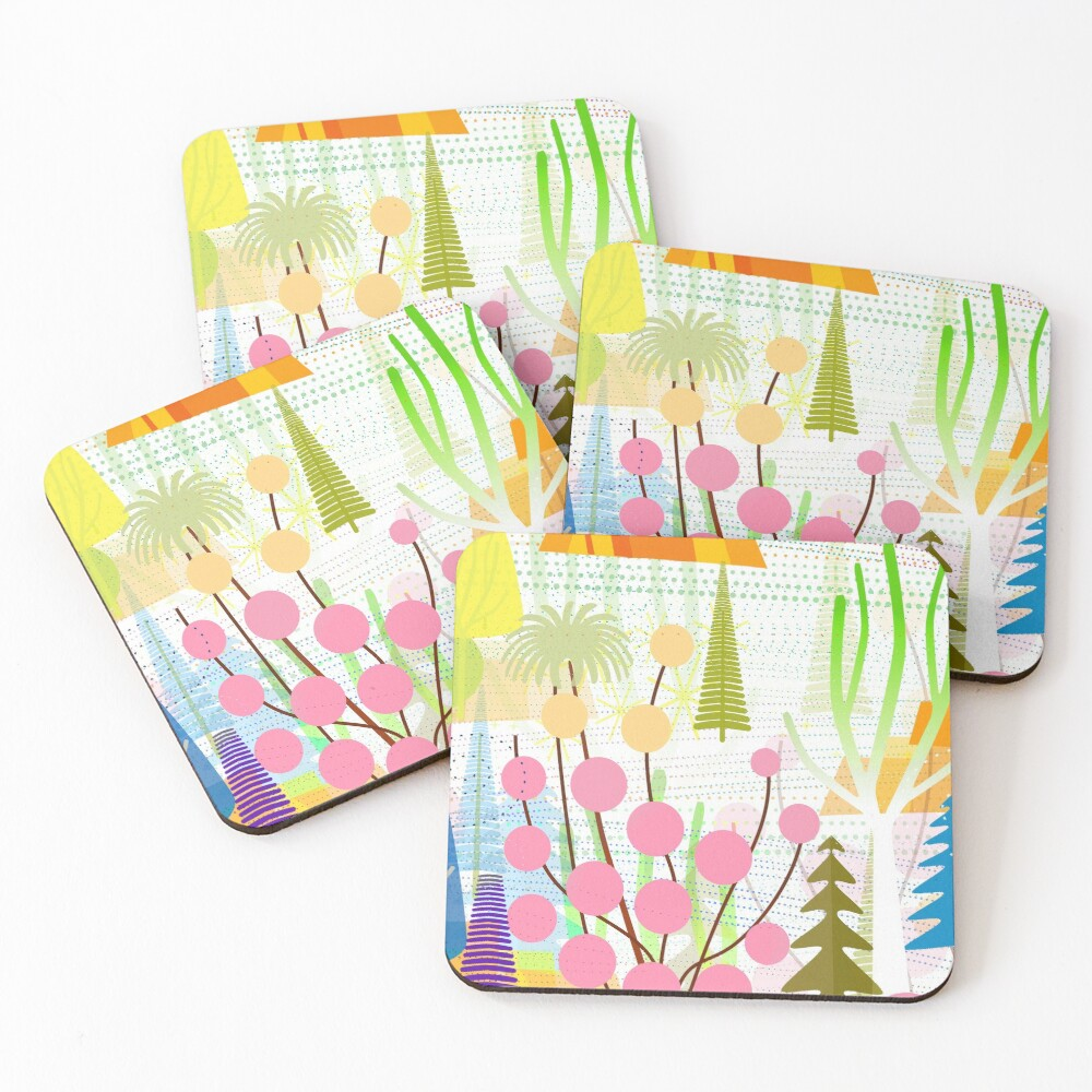 Fresh Day Coasters (Set of 4)