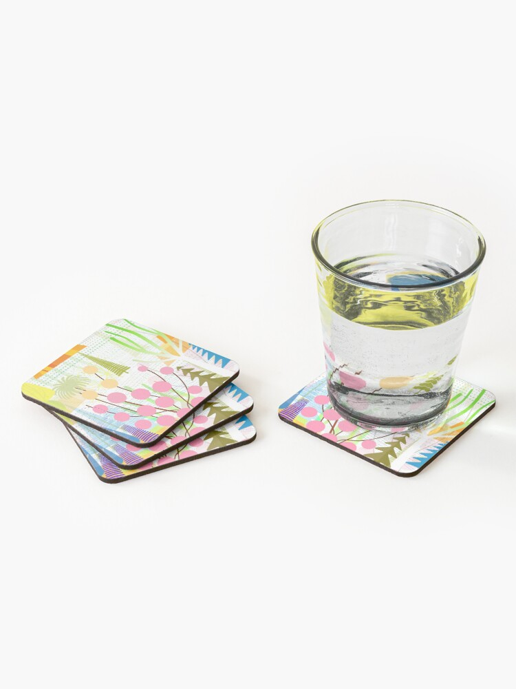 Alternate view of Fresh Day Coasters (Set of 4)