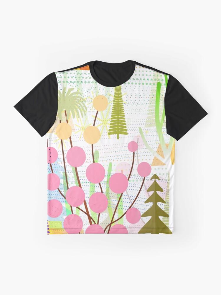 Alternate view of Fresh Day Graphic T-Shirt