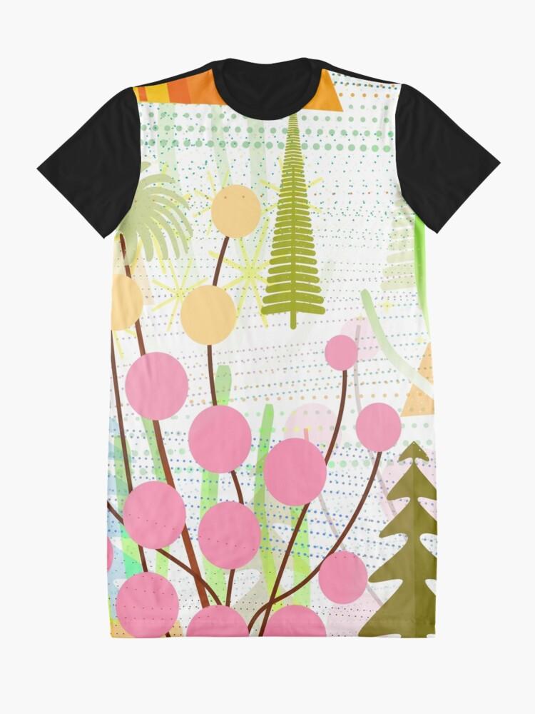 Alternate view of Fresh Day Graphic T-Shirt Dress