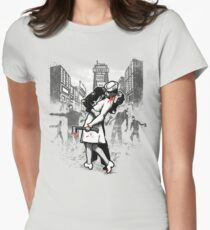 Z Day Zombies Womens Fitted T-Shirt