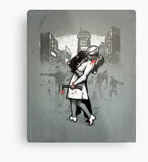 Z Day Zombies Metal Print