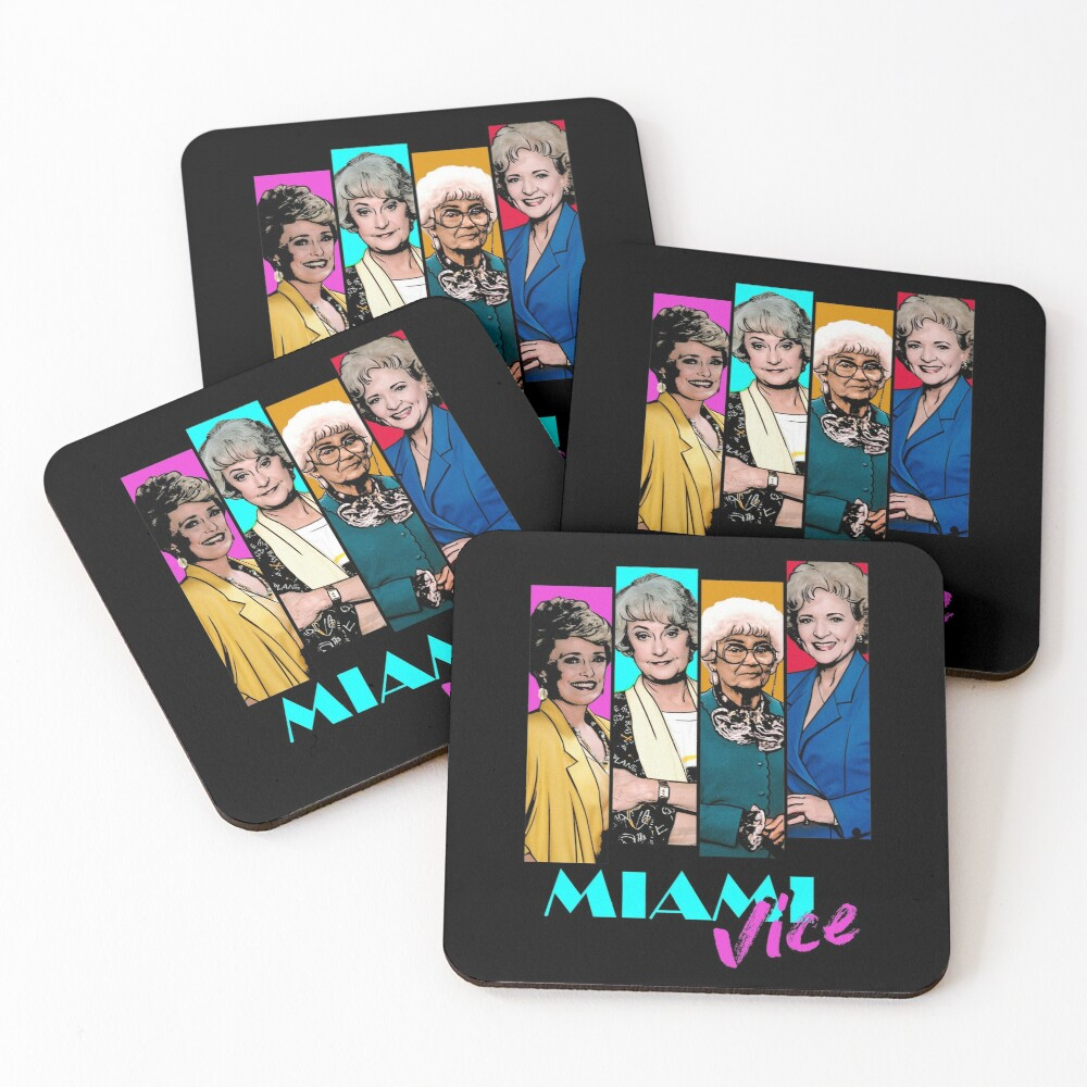 Miami Vice Coasters (Set of 4)