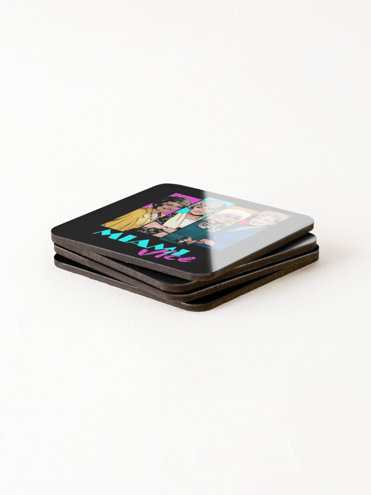 Alternate view of Miami Vice Coasters (Set of 4)