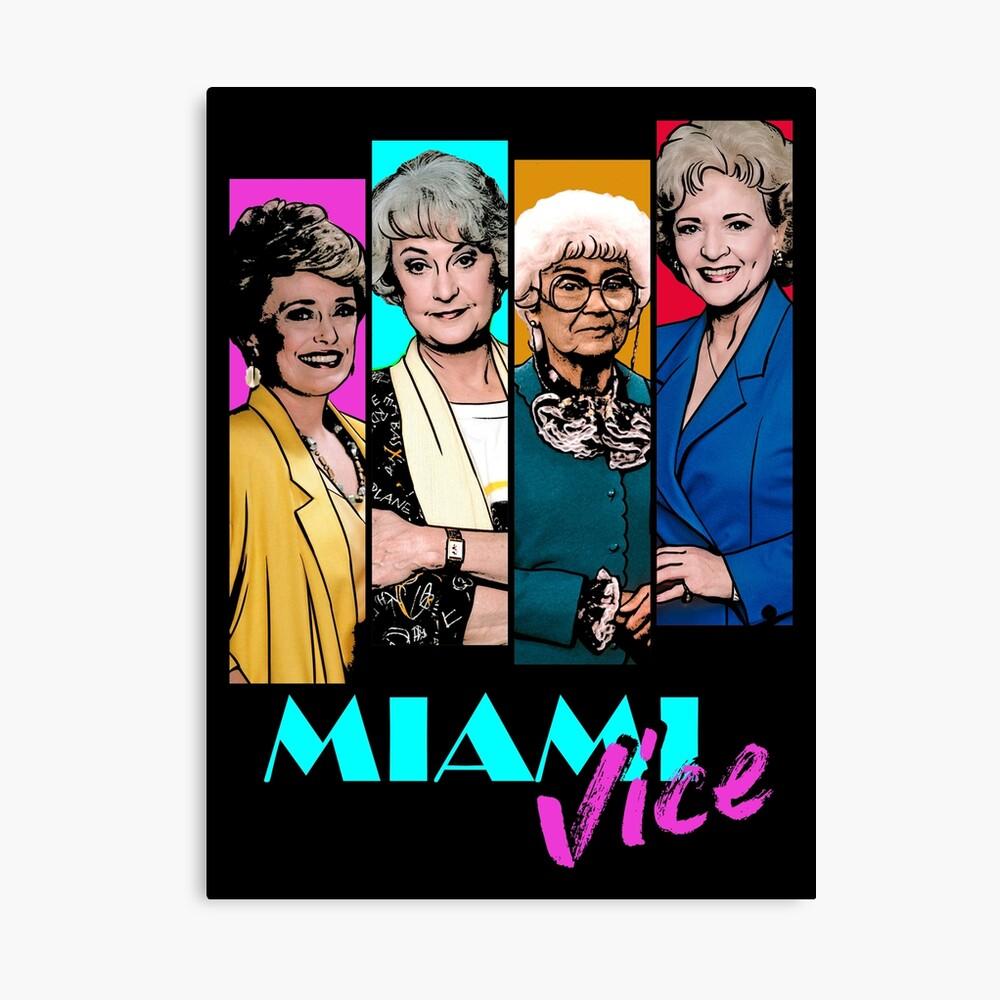 Miami Vice Canvas Print