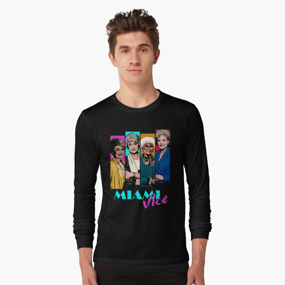 Miami Vice Long Sleeve T-Shirt
