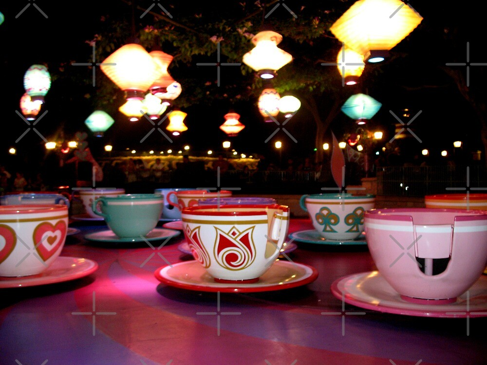 tea cups of delight by emma-jane day