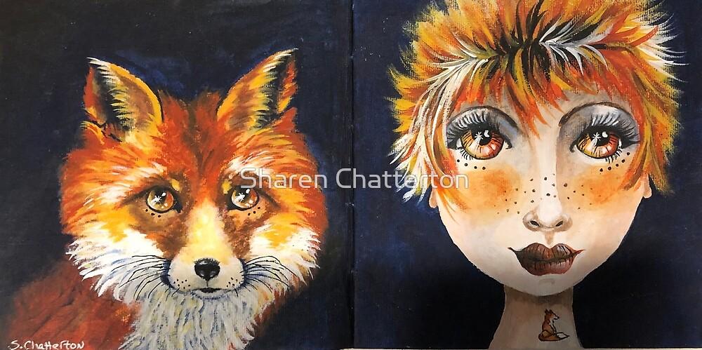 The Fox Twins by Sharen Chatterton