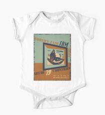 WPA United States Government Work Project Administration Poster 0745 World's Fair IBM Show Kids Clothes