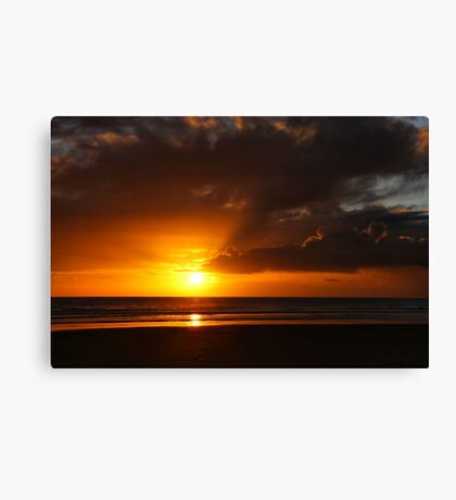 At Day's End Canvas Print