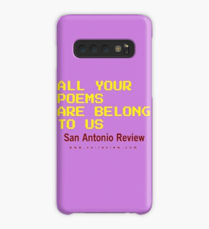 All Your Poems Are Belong to Us - San Antonio Review Case/Skin for Samsung Galaxy