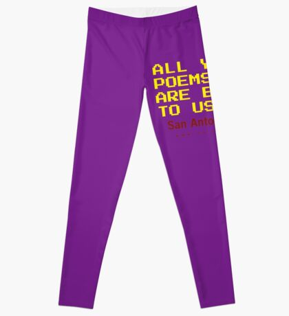 All Your Poems Are Belong to Us - San Antonio Review Leggings