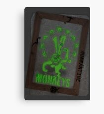12 Monkeys Dark Canvas Print