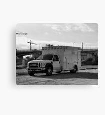 Ambulance Canvas Print