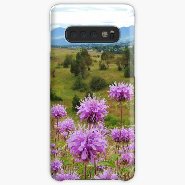 Mission Mountains and Horsemint Samsung Galaxy Snap Case