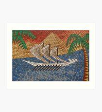 The Nile Art Print
