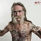 Old man by Meiko Janke