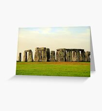 Stonehenge (1) Greeting Card