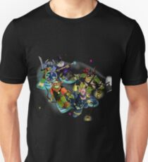 Turtles in Time   Turtle Warriors of Legend Unisex T-Shirt