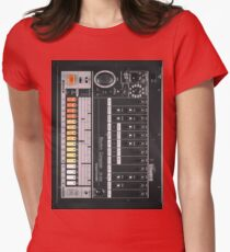 Electronic Rumors: 808 Womens Fitted T-Shirt