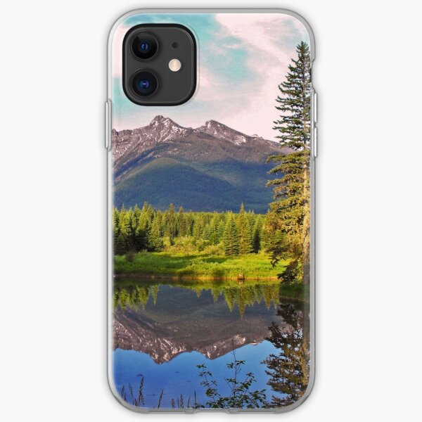 Montana Cabinet Mountains iPhone Soft Case