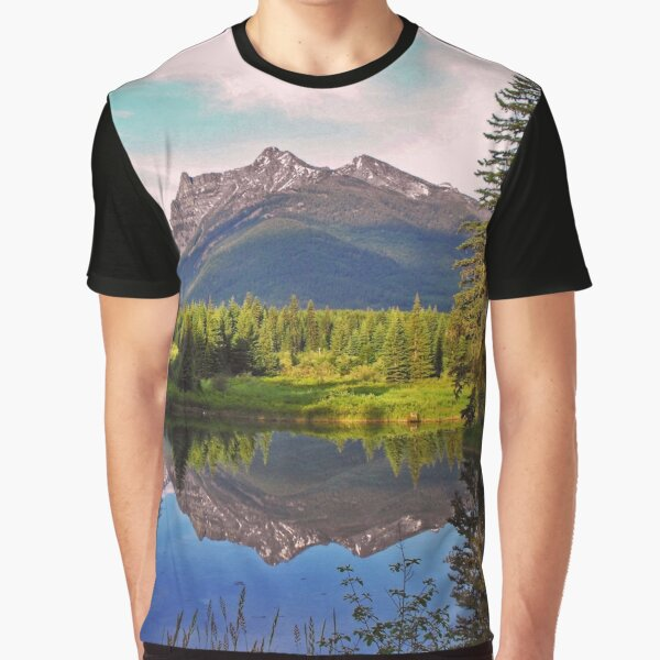 Montana Cabinet Mountains Graphic T-Shirt