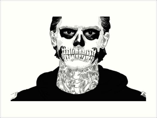«Cráneo de Tate Langdon» de purevirginity