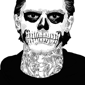 Tate Langdon Skull by purevirginity