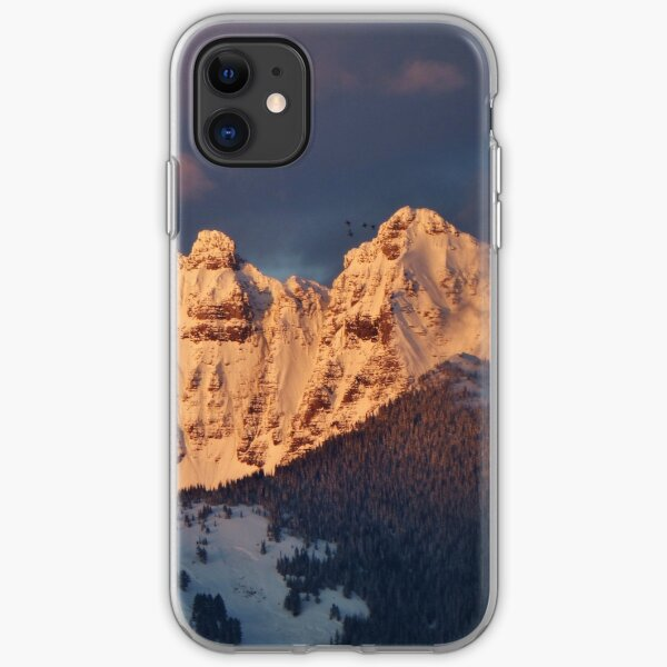 Snow Capped Missions iPhone Soft Case