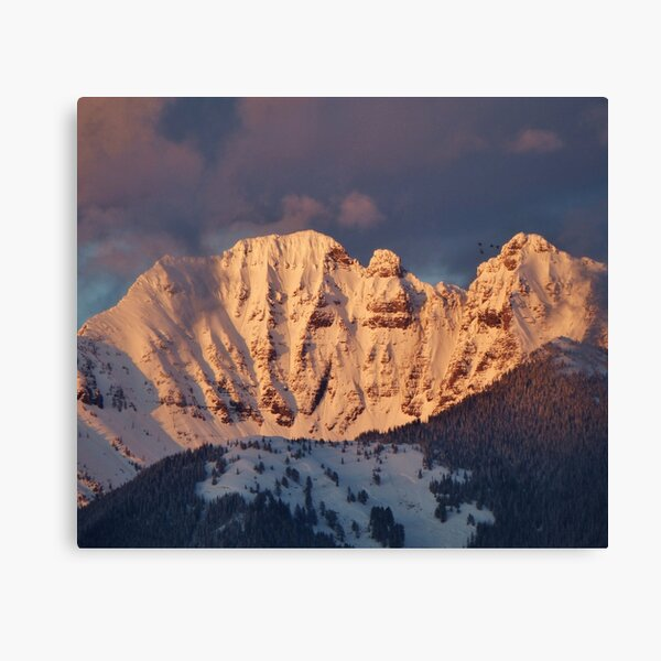 Snow Capped Missions Canvas Print