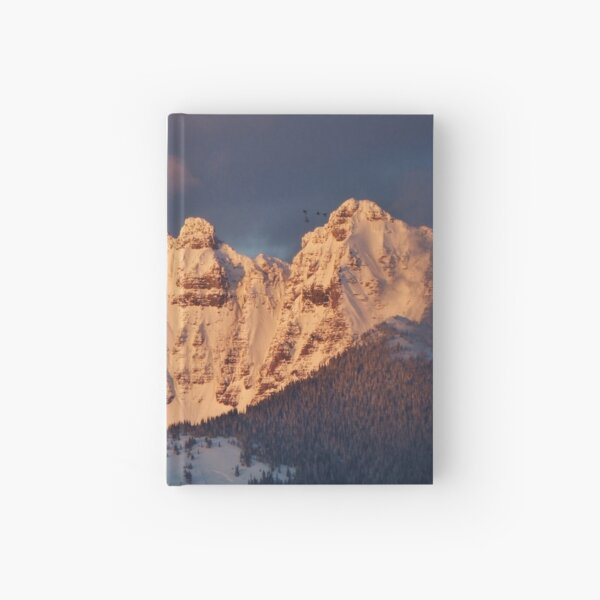 Snow Capped Missions Hardcover Journal