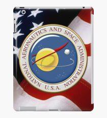 NASA Emblem over American Flag iPad Case/Skin