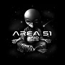 Buddha Alien Area 51 Raid by David Sanders