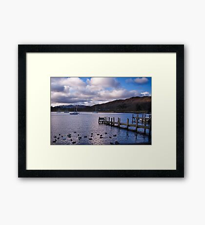 Early Morning at Windermere Framed Print