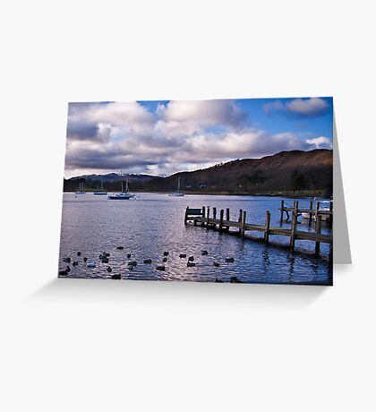 Early Morning at Windermere Greeting Card