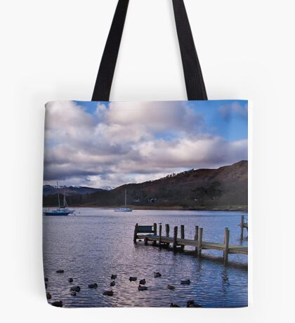 Early Morning at Windermere Tote Bag