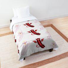 angel + demon long furby sticker pack Comforter