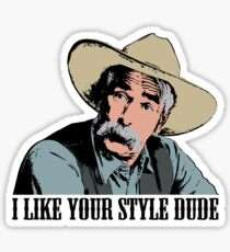 The Big Lebowski I Like Your Style Dude T-Shirt Sticker