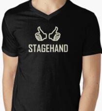 Stagehand Men's V-Neck T-Shirt