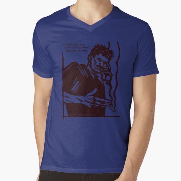 Mobile Phone Poetry V-Neck T-Shirt