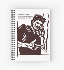 Mobile Phone Poetry Spiral Notebook