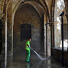 Barcelona Street Cleaner by milton ginos