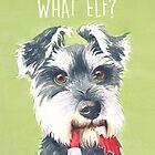 What Elf? by Sarah  Mac Illustration